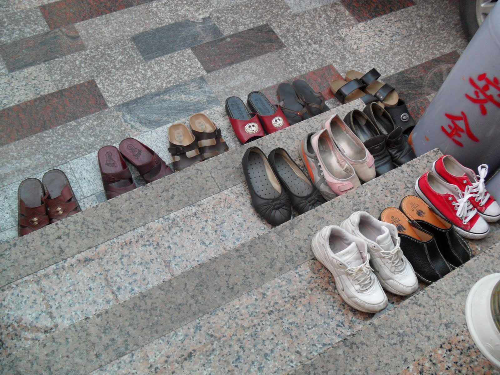 Removing shoes outside house can help prevent obesity'