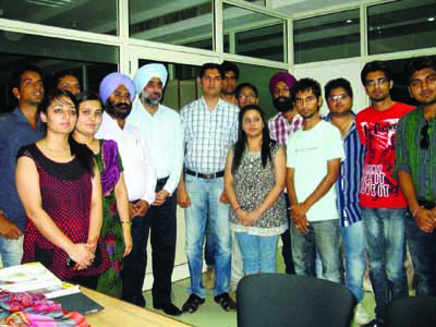 industrial tour of kathua campus for mba students concludes