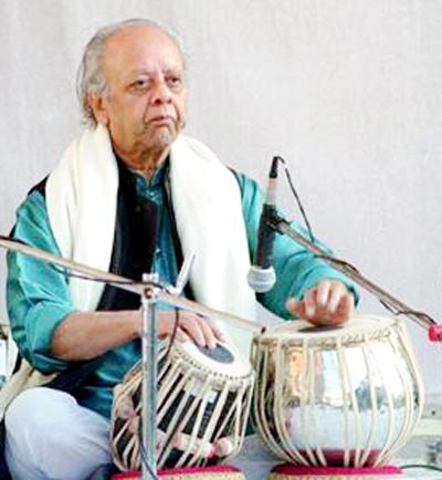 Alla Rakha Ustad Alla Rakha With Fazal Qureshi Fazal Quraishi A Gift To Ustad Allah Rakha 75th Birthday