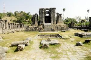 Restoration of ruined Sun Temple