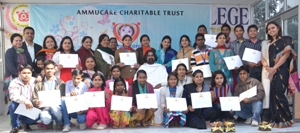 Participants of recently concluded workshop organised by Ammucare at Jammu.