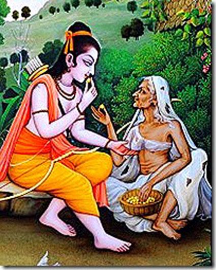 Shabri and Lord Rama
