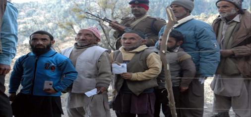 Dwarfs all set to become pride voters in Bharath area of Doda. -Excelsior/Tilak Raj