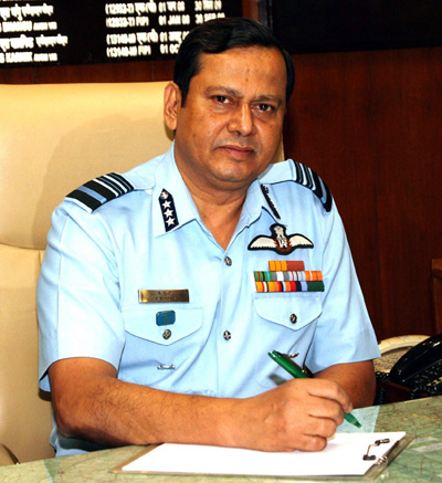 Air Marshal B. Suresh takes over as Senior Air Staff Officer of Western Air Command, Indian Air Force on Saturday.