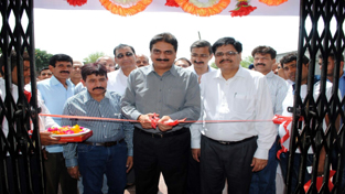 JKB Vice-President inaugurating the bank branch at Ghou Manhasan on Saturday.