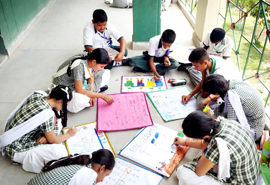 Poster making, slogan writing competition held