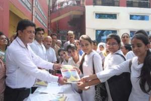 Mla jammu east rajesh gupta during the inauguration of suraksha