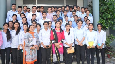 ju kathua campus organises industrial visit for mba students