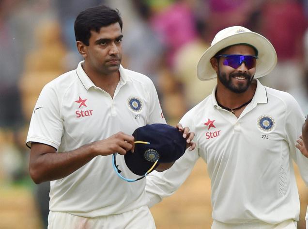 Ashwin, Jadeja in top-5 of ICC all-rounders' rankings