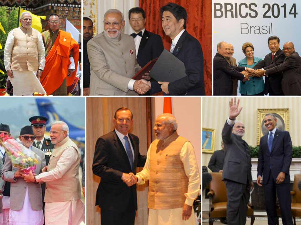 PM made footprints in 30 nations across globe in 2015