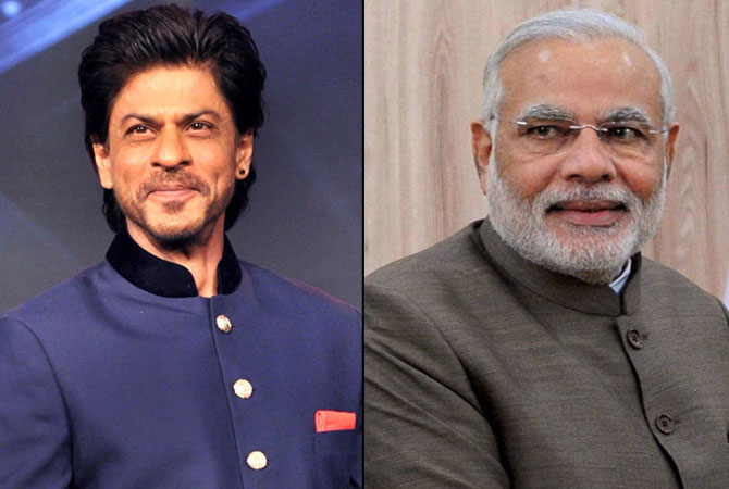 Modi pips SRK to become 2nd most followed Indian on Twitter