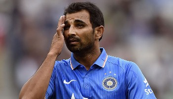 Injured Shami ruled out, Bhuvneshwar in for Australia series