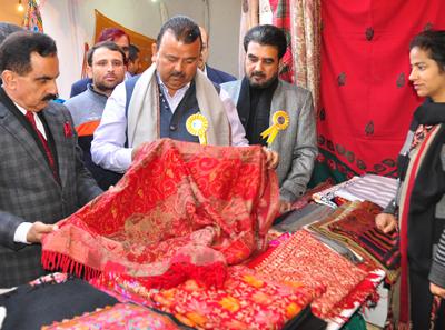 Ganga Inaugurates Handicrafts Exhibition Cum Sale Expo