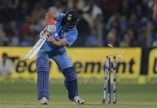 India all out for 101 vs Sri lanka in first T20 International