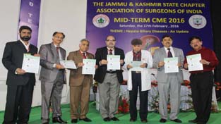 Dignitaries during CME programme in the auditorium of GMC Jammu.
