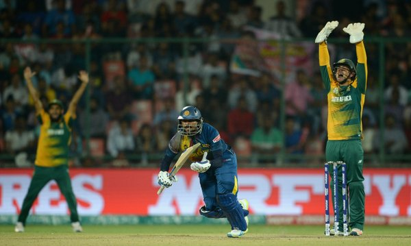 Lanka all out for 120 against SA