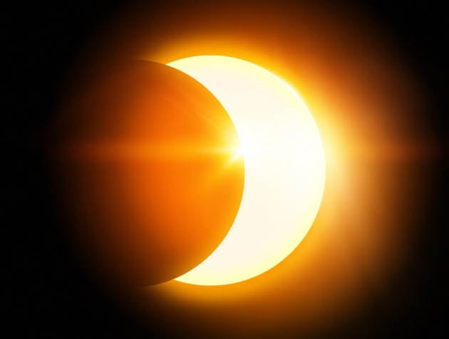 Partial Solar Eclipse in India on Mar 9