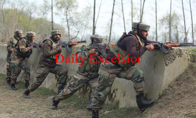 2 LET Militants killed in an on going encounter at wandakhpora Awantipora,Search operation going on : Younis Khaliq