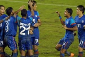 India slips one spot in FIFA rankings