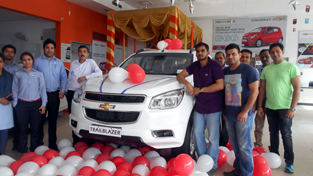 Officials Of Kc Motors During Unveiling Of New Chevrolet