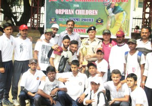 Jammu Superstars lifts JKP T20 Exhibition match for orphan children