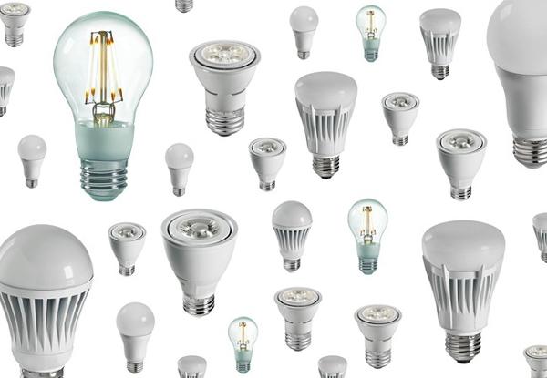 new delhi june 27 the new 9 watt led bulbs under the ujala scheme. Black Bedroom Furniture Sets. Home Design Ideas