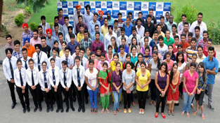 Students of CT Group of Institutions, who were placed in top notch companies.
