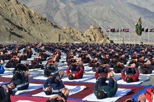 International Yoga Day observed across J&K