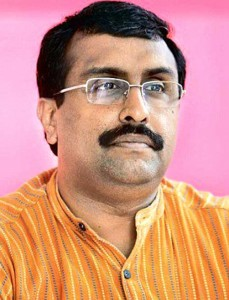 Ram Madhav in Jammu, holds deliberations with party leaders