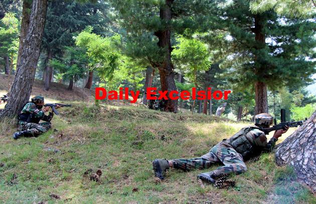 Army foils infiltration bid near Line of Control in Kashmir…Excelsior\Aabid Nabi