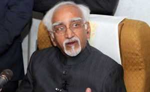 Ansari pays homage to Mahatma Gandhi at source of Nile river