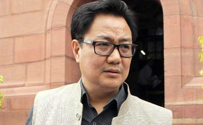 Need to ensure terrorism isn't patronised by any state: Rijiju