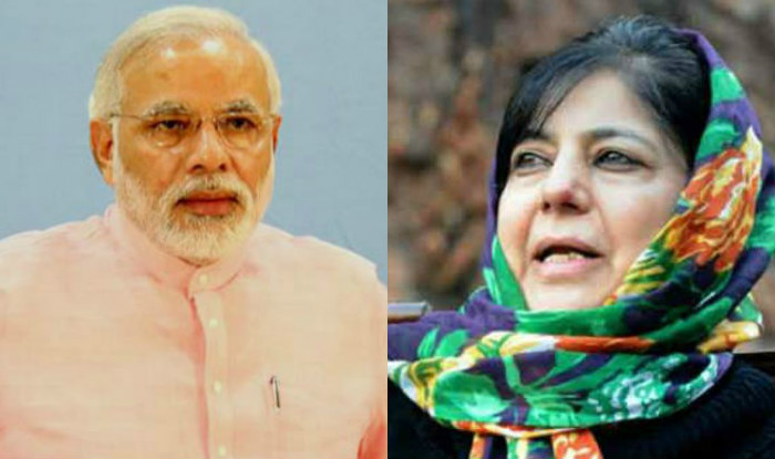 Do what Vajpayee did to win hearts in Kashmir: Mehbooba to Modi