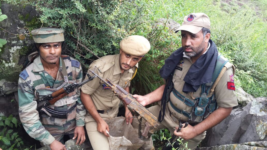 Hideout busted in Reasi, ammunition recovered