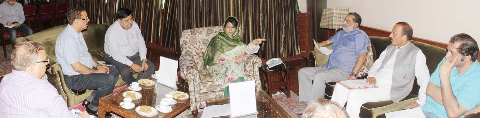 Chief Minister reviews implementation of social security schemes in JK
