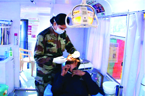 Joining Army Medical Corps