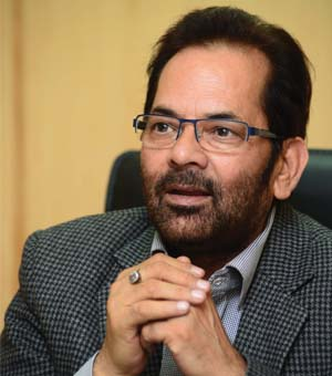 Naqvi attacks Congress over leadership 'confusion'