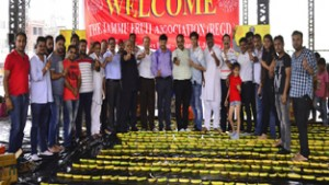Vikrant, Jammu Fruit Association   makes Guinness world record