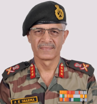 Lt Gen A K Sharma takes over as GoC of 16 Corps