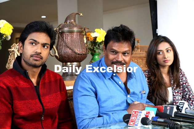South Indian Film Director G Ravi Kumar Along With Two Actors