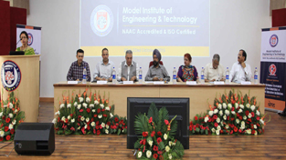 Prof. A S Brar, VC, GNDU presiding over inaugural of national seminar at MIET.