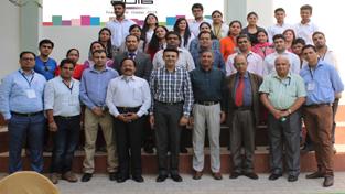 Awardees posing with MIET leadership team during alumni meet at MIET's Kot Bhalwal campus.