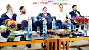 Dignitaries during legal awareness programme.
