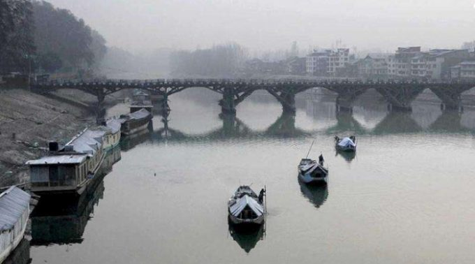 Cold wave in Kashmir, Leh coldest at minus 8.2 deg C