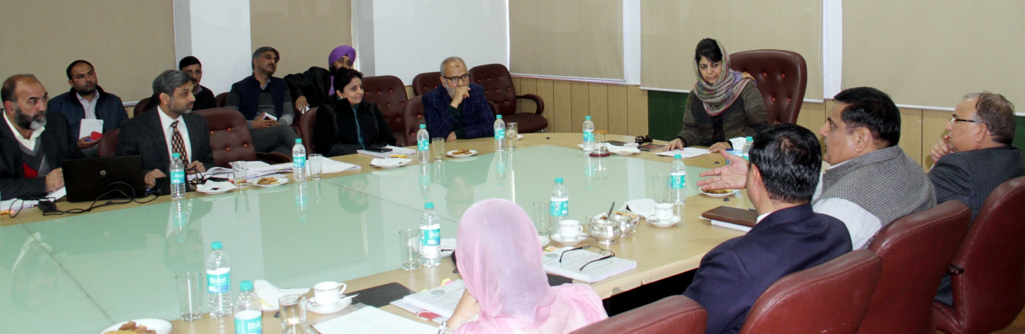 Mehbooba stresses on more student exchanges, school interactions