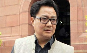 Soul of Gurmehar's martyred father must be crying: Rijiju