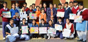 Inter-School painting competition held
