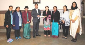 KCIS donates Rs 2,53,940 to HelpAge India