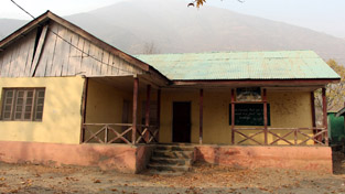 Pitiable condition of a school in Baramulla district.