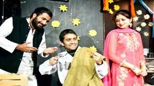 A scene from the play 'Kavita Ka Chakkar'.